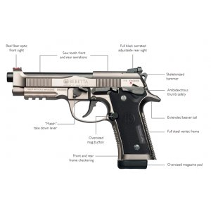 Beretta 92X Performance 9 mm Luger