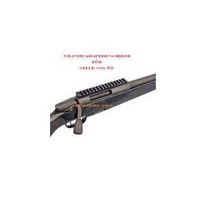 Steyr SSG 69 Weaver-Schiene (weaver rail)