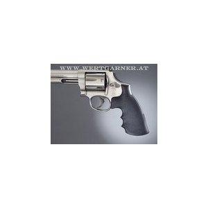 HOUGE Gummigriff für S&W Revolver mit K- oder L-Rahmen Round Butt