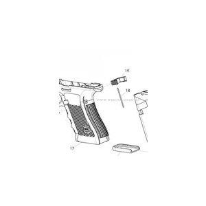 Glock Magazinhalterfeder Gen. 1-4 & Glock 42/43