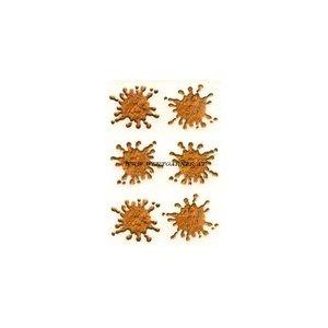 Aufkleber Dreck-Spritzer flingin` monkey poo
