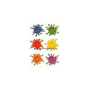 Aufkleber Farbspritzer paint splatts
