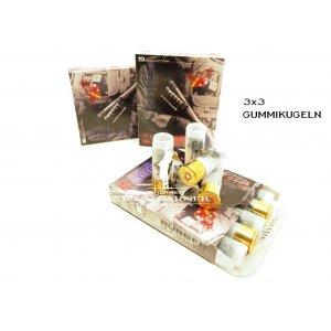 Gummischrot 12/70 Rubber Buckshot