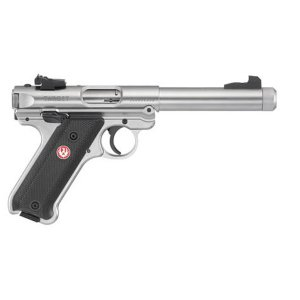 Ruger Mark IV Target 22 L.R. Stainless Laufgewinde