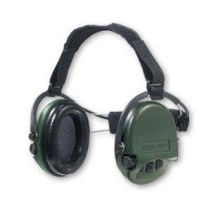 MSA Sordin SUPREME PRO NECKBAND grün, Elektronischer Gehörschutz