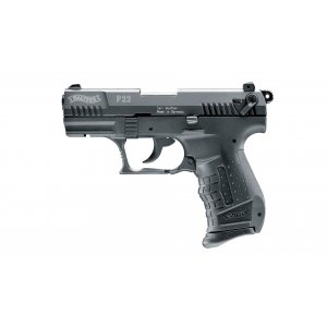 Walther P22 Schwarz 9mm P.A.K.