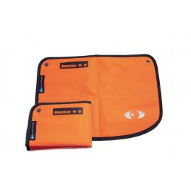Sitzmatte Neverlost, orange, 2er