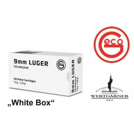 GECO 9mm Luger,  White Box
