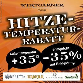 Hitze- Temperatur-Rabatt Bekleidung