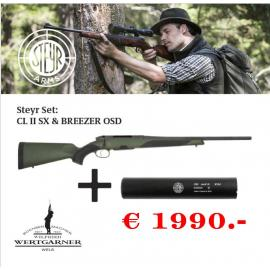 Steyr Arms CL2 SX-SET optional in LINKS